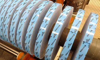 Corte de bobinas de papel